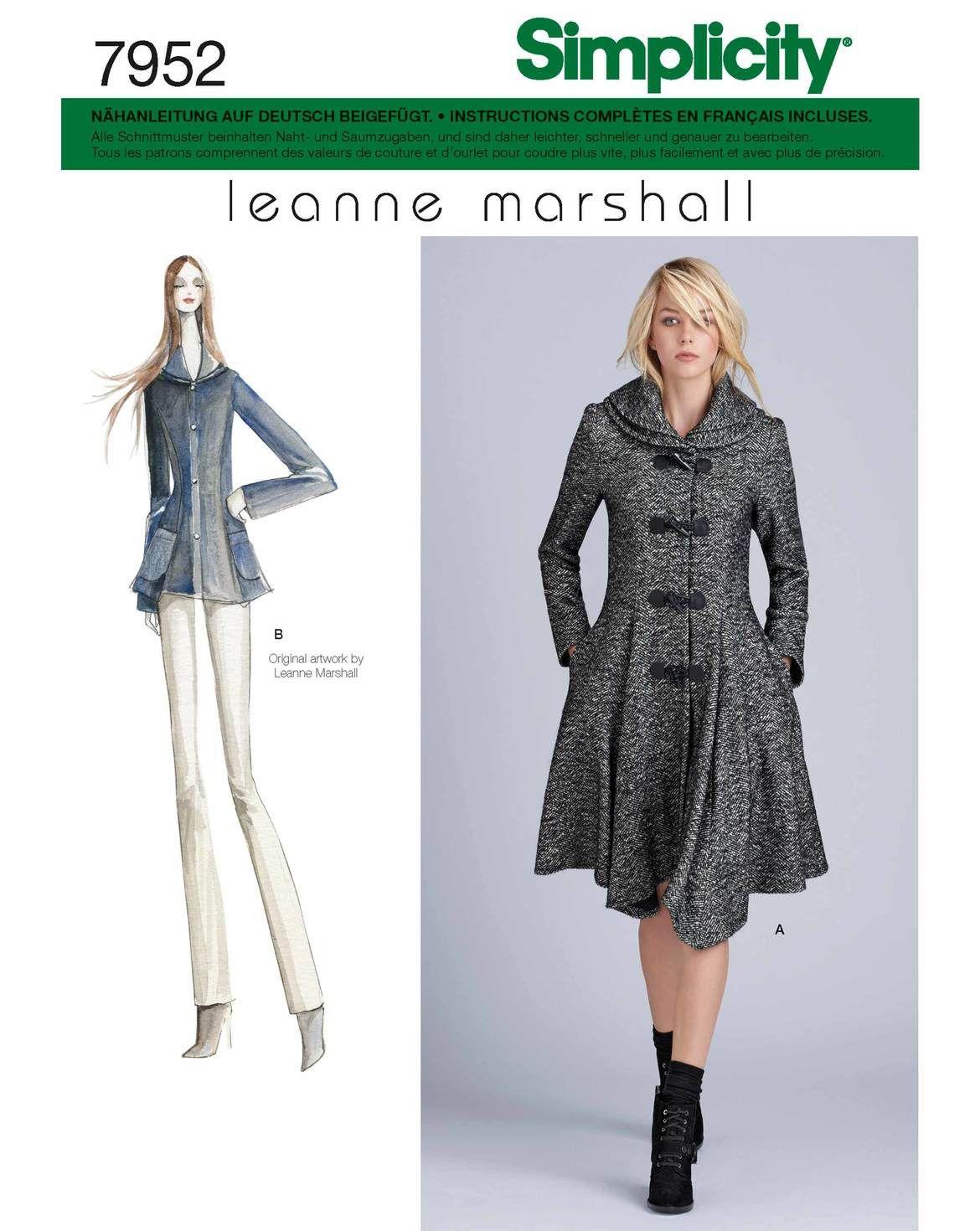 Die Schößchen-Jacke und der –Mantel feiern die Weiblichkeit auch an ...