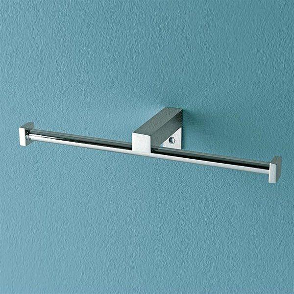 Nameeks 4525 Eden Double Toilet Roll Holder Double Toilet Roll Holder Chrome Towel Bar Toilet Roll Holder