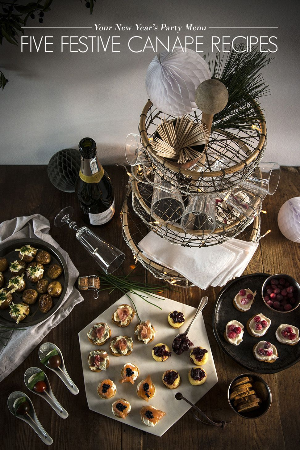 Best New Year's Eve Party Food Ideas Rock Recipes New