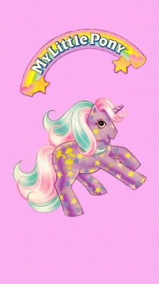 Pinkfunfetti Iphone Home Lock Screen My Little Pony Wallpaper Vintage My Little Pony Original My Little Pony