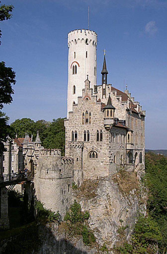 Das Schloss Lichtenstein bietet so ziemlich alles, was ein