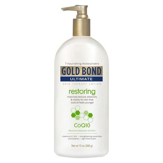Gold Bond Restoring Coq10 Body Lotion Skin Therapy Lotion Dry