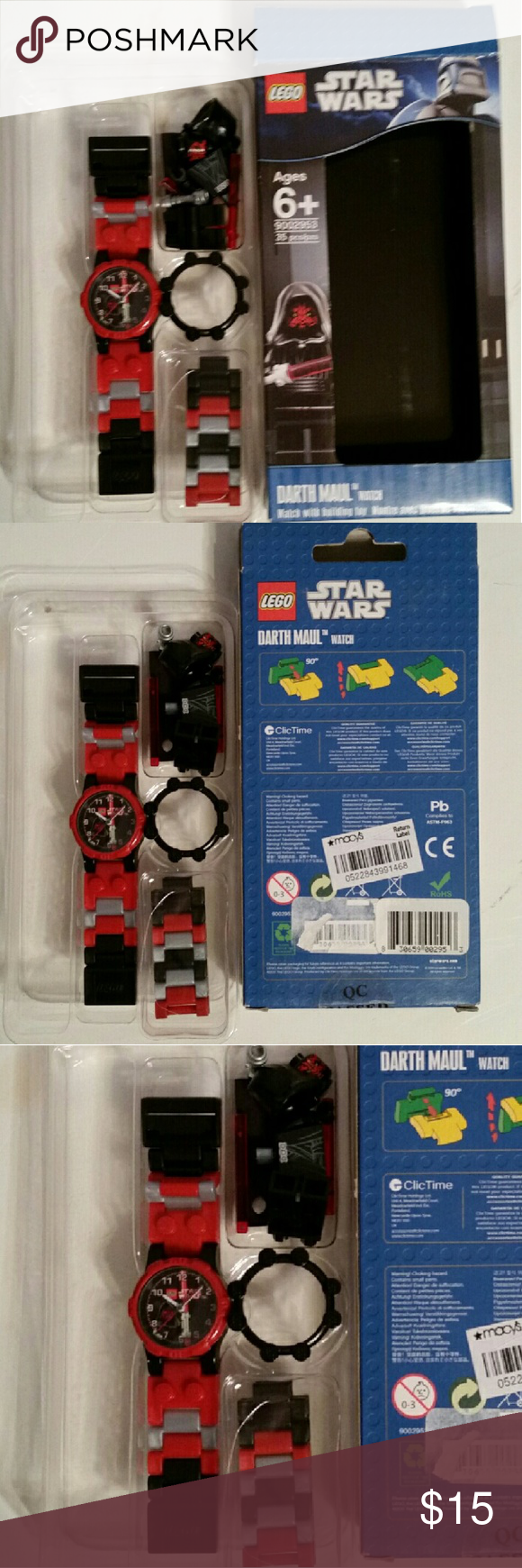 Star Wars Lego Watch Lego Accessories Lego Watch Lego Star Wars