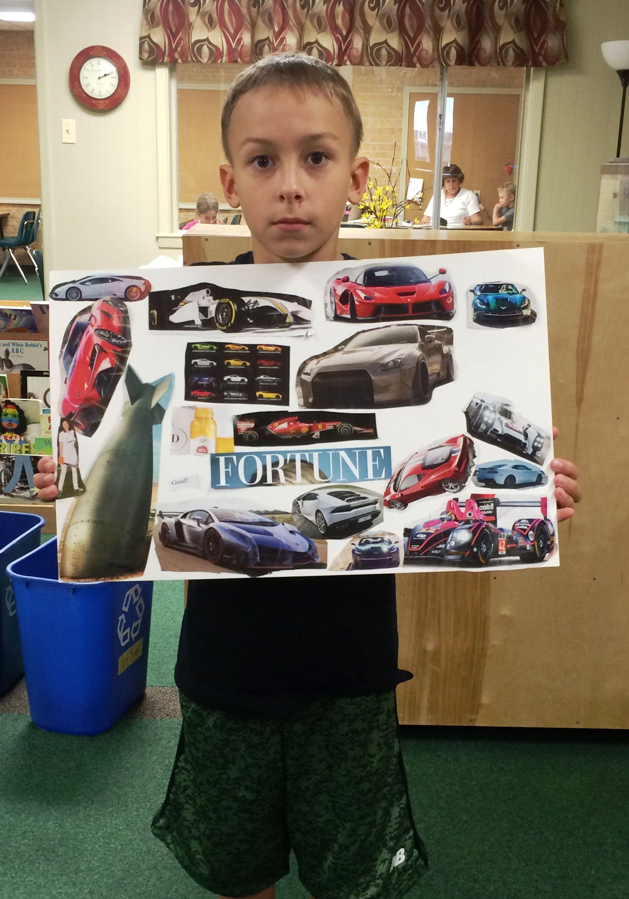 3rd And 4th Grade Vision Board