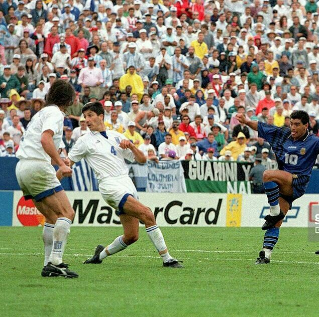 Argentina 4 Greece 0 In 1994 In Foxborough A Goal On 60 Minutes For Diego Maradona Makes It 3 0 Seleccion Argentina De Futbol Diego Maradona Argentina Mundial