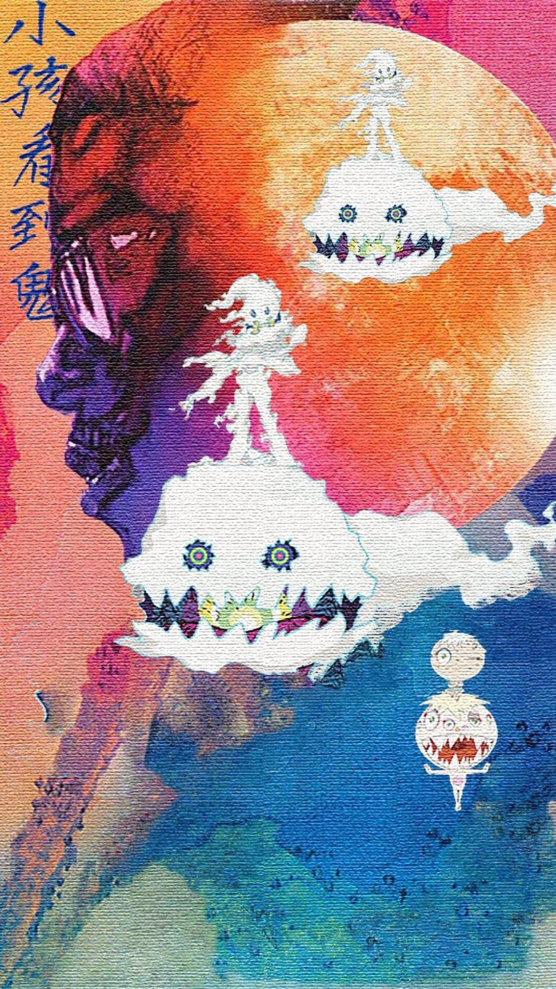 Pin By Bridget Chase On Wallpapers Kid Cudi Wallpaper Hip Hop Art Flower Iphone Wallpaper