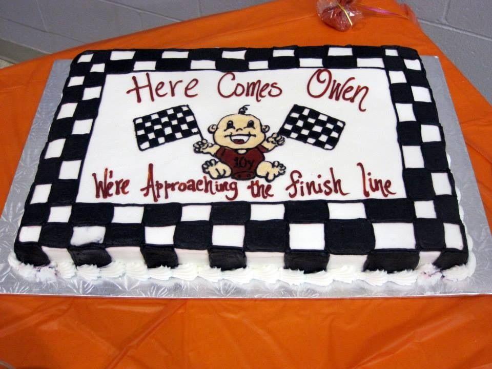race themed baby shower cake race car baby shower pinterest