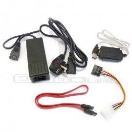 ADAPTADOR DE IDE/SATA A USB http://ociodual.com/es/cables
