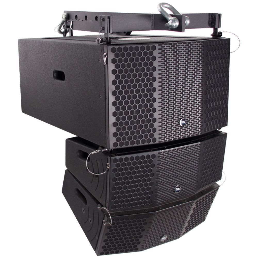 Compact 3x10 Line Array Subwoofer, Pair of Compact 2x5 Line Array ...