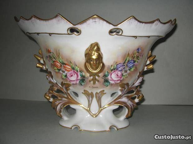 porcelana pintada a mão