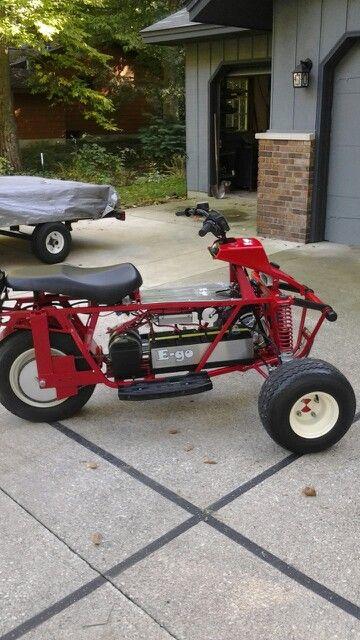 E Go Electric Trike Side View 48v Elektro Motor Fahrzeuge Motor