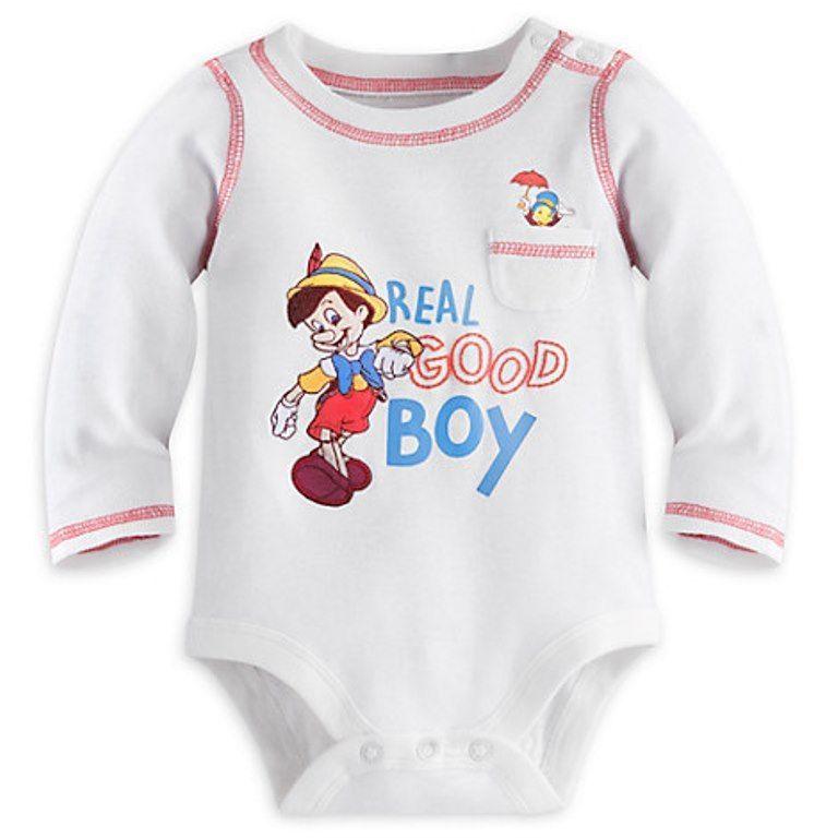 Disney Pinocchio infant romper Size NB NWT
