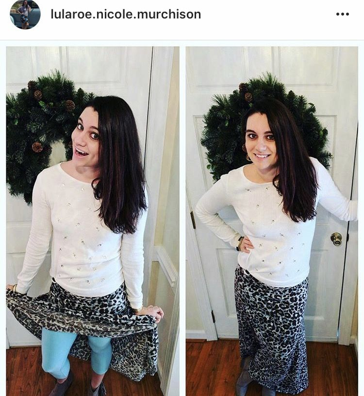 Maxis in cold weather? It's okay! Pair some Lularoe leggings under a Lularoe maxi for warm clothes. Shop this look here: https://www.facebook.com/groups/shoplularoenicolemurchison/