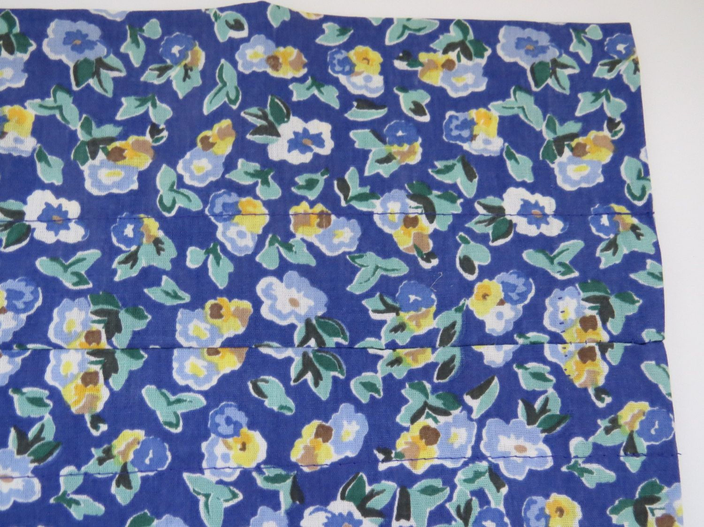 Laura Ashley Valance - Polyanthus Primrose - Blue Yellow Floral ...
