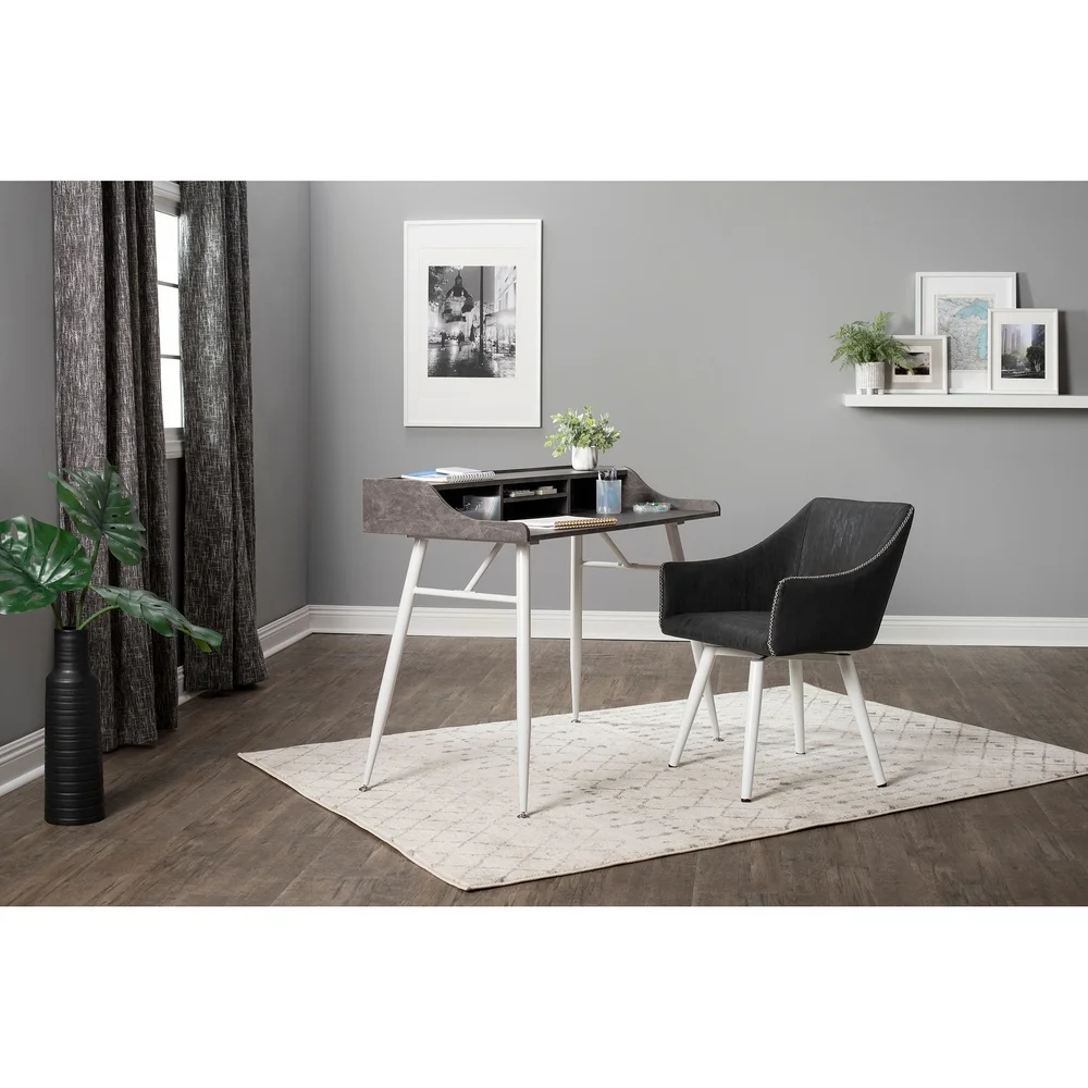 Calico Designs Sydney Swivel, Home Office Accent Chair