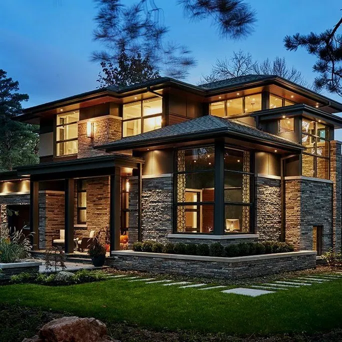 21 Elegant And Cozy Home Desain Ideas 10 Home Garden Design Modern House Design House Architecture Design House Designs Exterior