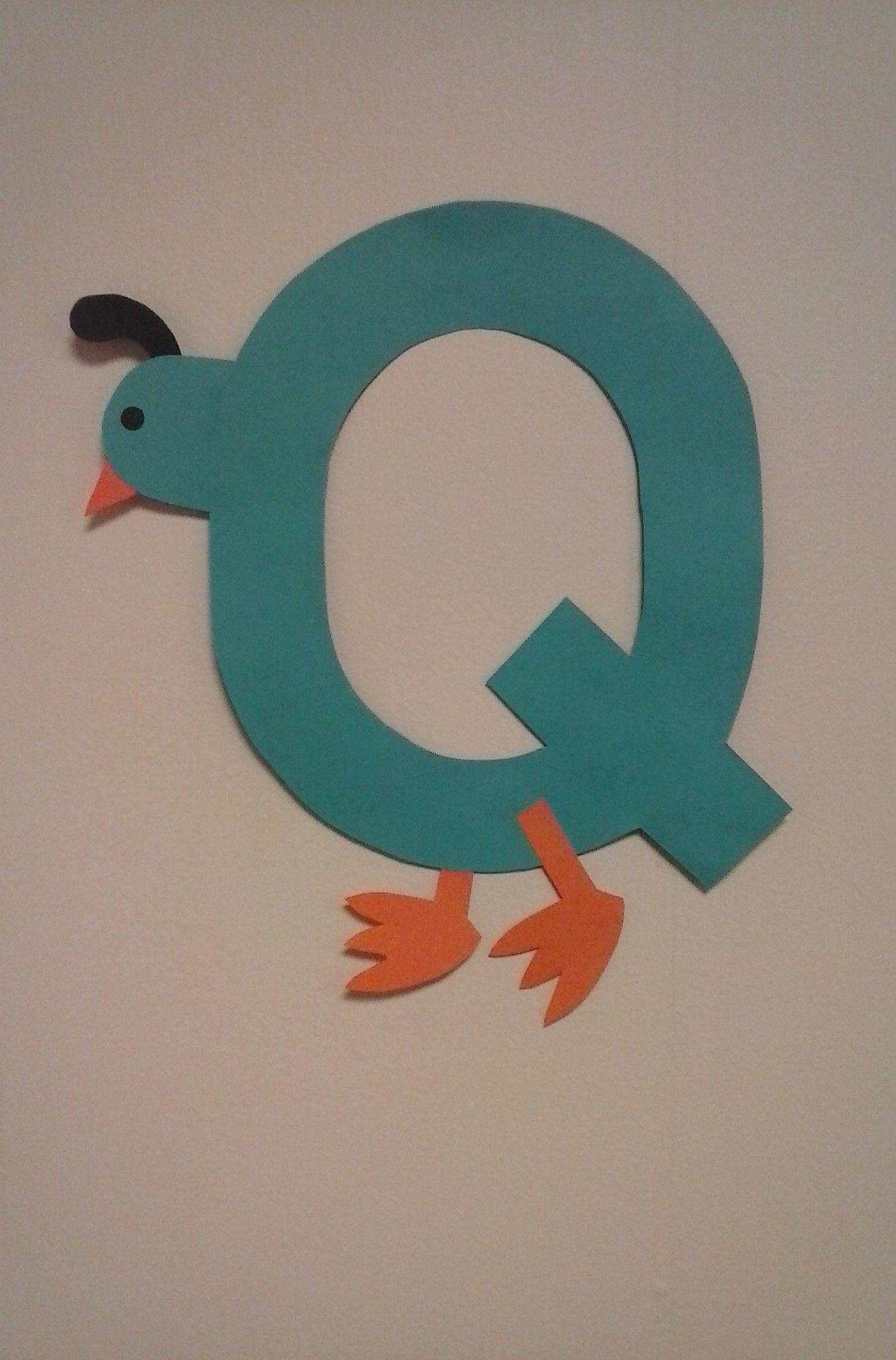 Preschool Letter Q Q Is For Quail
