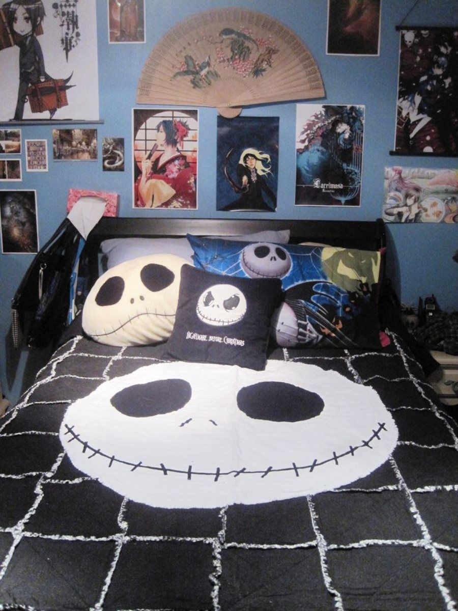 best nightmare before christmas room decor - Nightmare Before Christmas Bedroom Decor