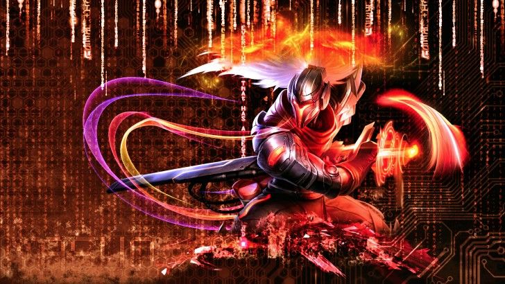Cyber Ops Project Yasuo League Of Legends Skin Wallpaper 1920x1080