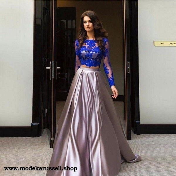 5442128174c3 Zweiteiliges Abendkleid Renate   Indian Suits in 2019   Abendkleid ...