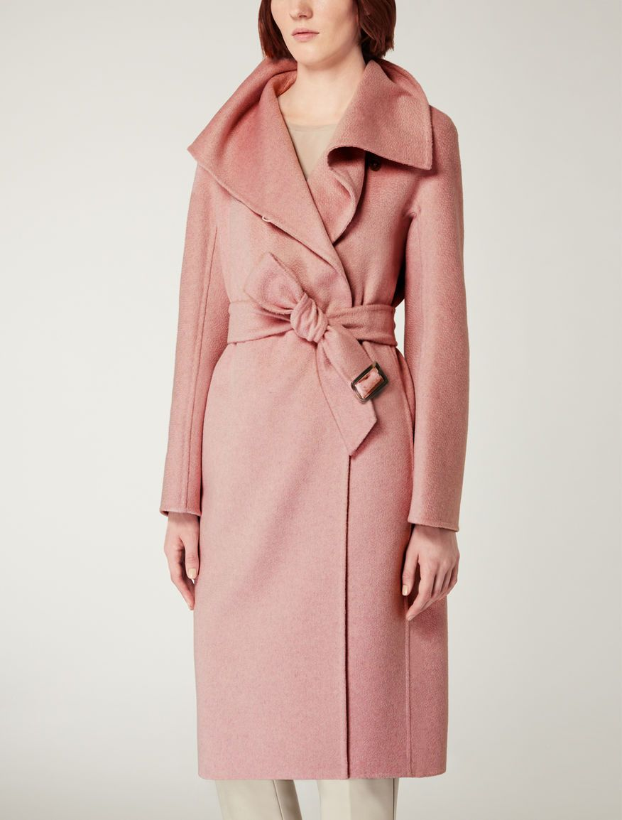 Cashmere coat, antique rose - ELIANA Max Mara
