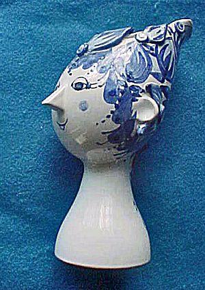 Titania Head Vase - Bjorn Wiinblad - 20th C