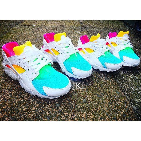 best sneakers 87771 092c6 White Rainbows Nike Air Huarache Nike Huarache Tie Dye Summer Huarache...  ( 183