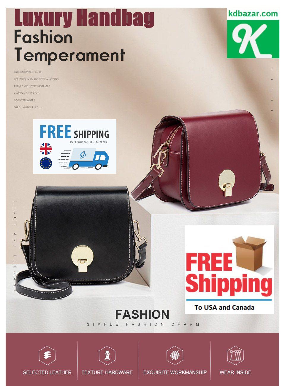 420263cbf0 Lovely Women Leather Saddle Crossbody Designer Purse with Adjustable  Shoulder bags for women Female  Genuine  Leather  Luxury  Handbags for Women