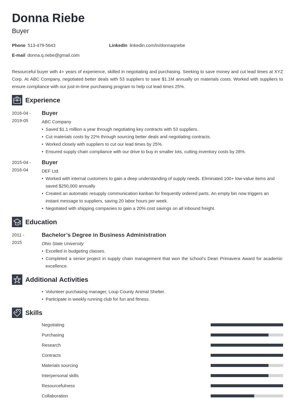 Buyer Resume Example Template Newcast Resume Examples Job Resume Examples Resume