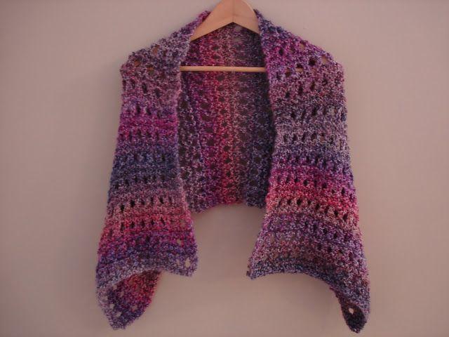 Free Knitting Pattern...A Peaceful Shawl!   Pinterest   Knit ...