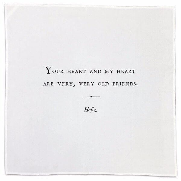Friendship Cotton Napkins (choose from 10)Welcome To My House