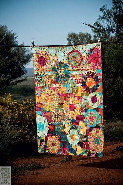 A Quilt from the quilt book: Making Quilts with Kathy Doughty of Material Obsession