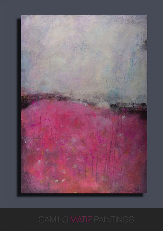 Abstrakte Kunst Leinwand acrylic painting, pink abstract, painting, abstract acrylic