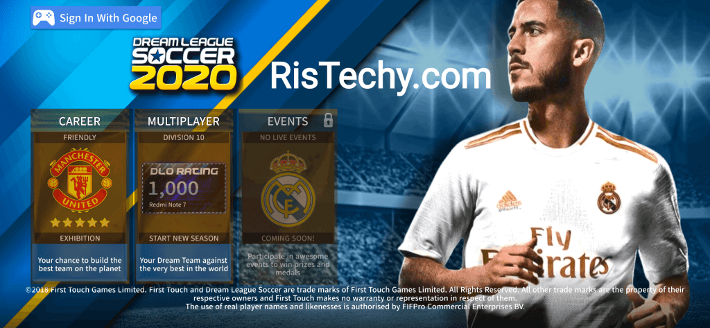 Dream League Soccer 2020 Mod Android Game download free