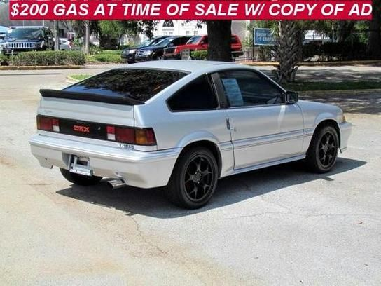 1987 honda crx si i love silver crxs cars we love. Black Bedroom Furniture Sets. Home Design Ideas