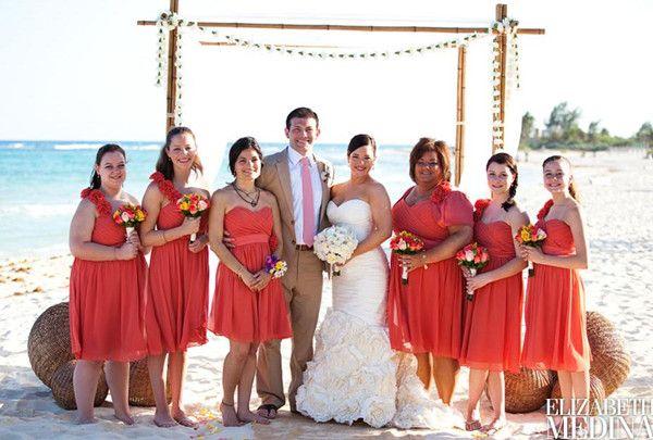 Special Wednesday Top 10 Coral Bridesmaid Dresses Ideas In 2013 2014 Elegantweddinginvites Com Blog Beach Wedding Bridesmaid Dresses Beach Bridesmaid Dresses Coral Bridesmaid Dresses