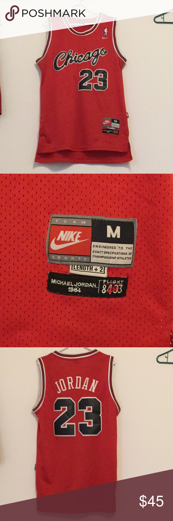 67a94c3d3bd Chicago Bulls (1984) Michael Jordan Jersey Used but no rips or stains! 9/10  Vintage (1984) Rookie season jersey This jersey was not mass produced and  as ...