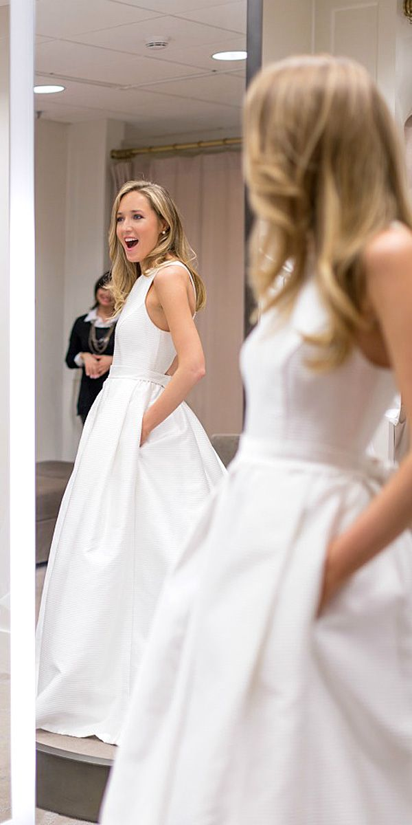 18 Simple Wedding Dresses For Elegant Brides Our Gallery Contains Stunning Gowns With