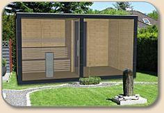 Gartensauna Modern gartensauna design mit glasfront http holzon de design