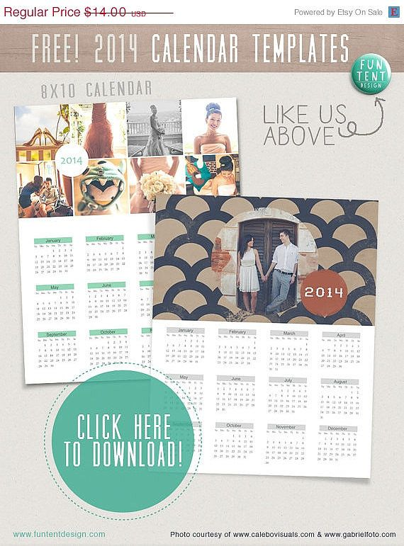 12 Cute Free Printable Calendars For 2014 Free Printable Calendar
