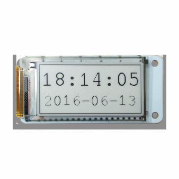 PaPiRus Zero - ePaper Screen for Pi Zero (Front Shot with text Transparent Background)
