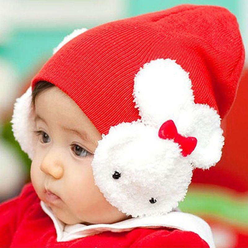 579f0a456a9  2.81 - Hx Fashion Toddler Kids Winter Ear Flap Warm Hat Beanie Cap Crochet  Rabbit  ebay  Fashion