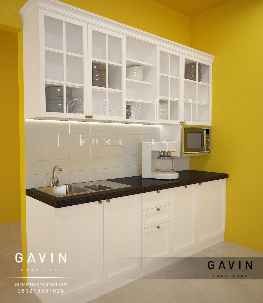 Melengkapi Keindahan Dari Kitchen Set Duco Putih Ini Juga Di