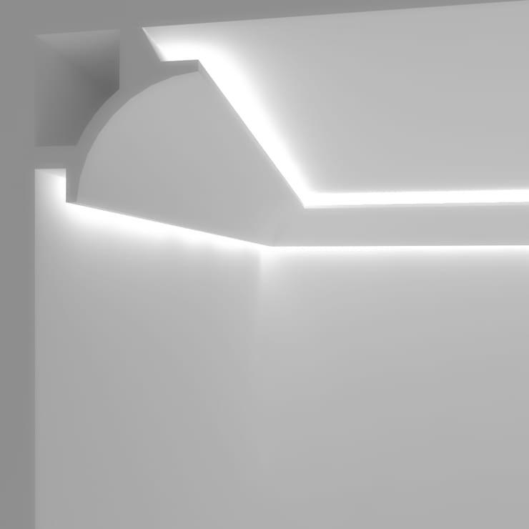 Illuminazione Led A Soffitto.Cornici E Velette Per Impianti D Illuminazione Led A Milano