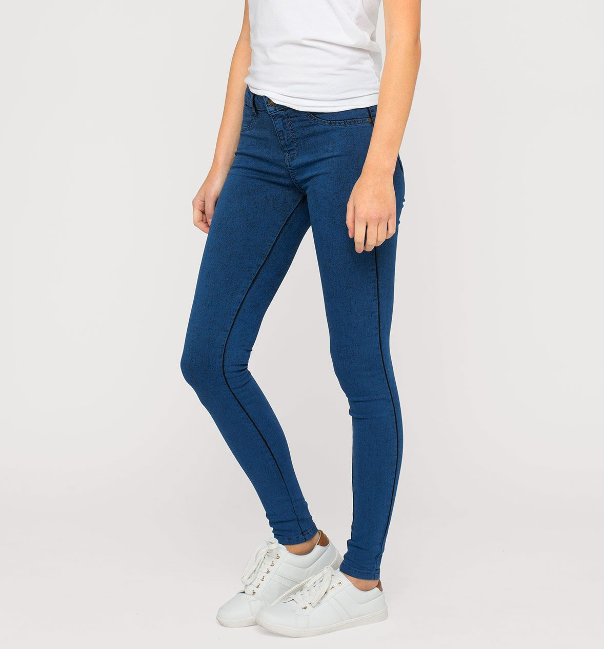 Jeggings en vaqueros - azul