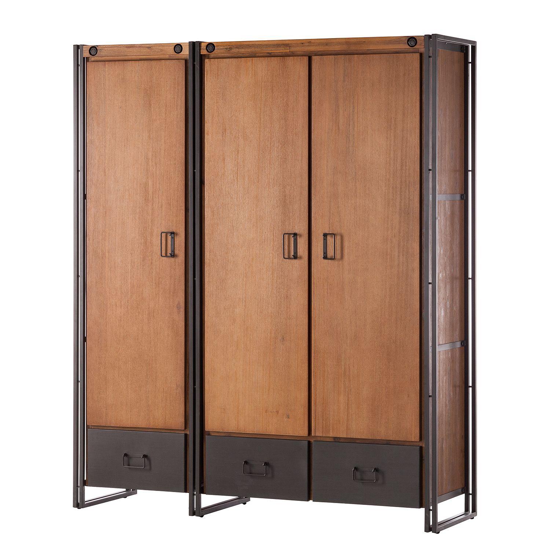 Garderobenschrank Manchester Ii Online Mobel Schrank Zimmer Mobel Online Kaufen