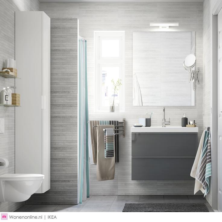 IKEA badkamer | Pinterest - Ikea badkamer, Ikea en Badkamer inspiratie