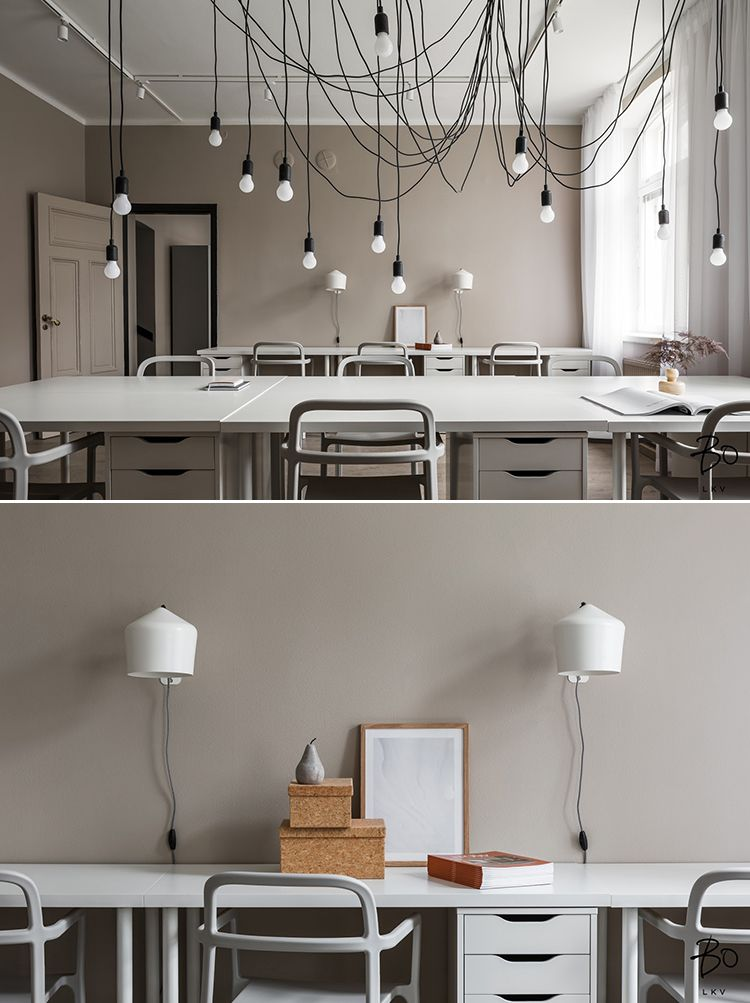 contemporary office lighting tall space contemporary scandinavian office design by peeta peltola with impressive lighting in 2018