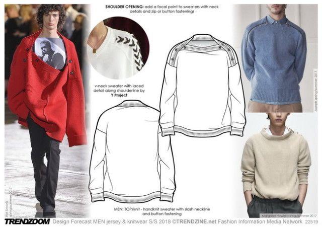 Trendzine Ss 2018 Trends On Weconnectfashion Menswear Jersey And