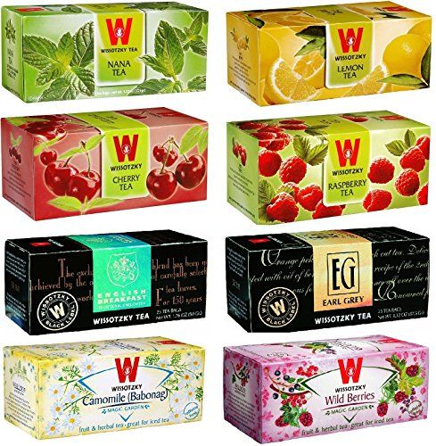 WISSOTZKY Magic Tea Box Refill 8 boxes 200 tea bags -- Click image for more details. Note: It's an affiliate link to Amazon.